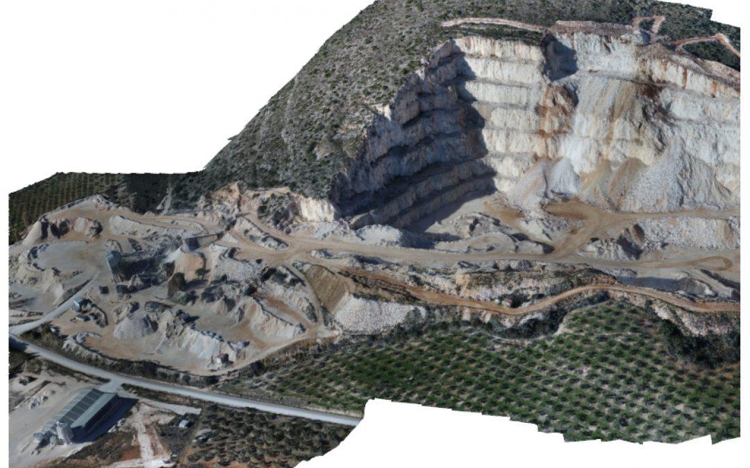 Levantamientos de canteras. Surveys of quarries.