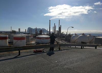 refineria con topodron3d